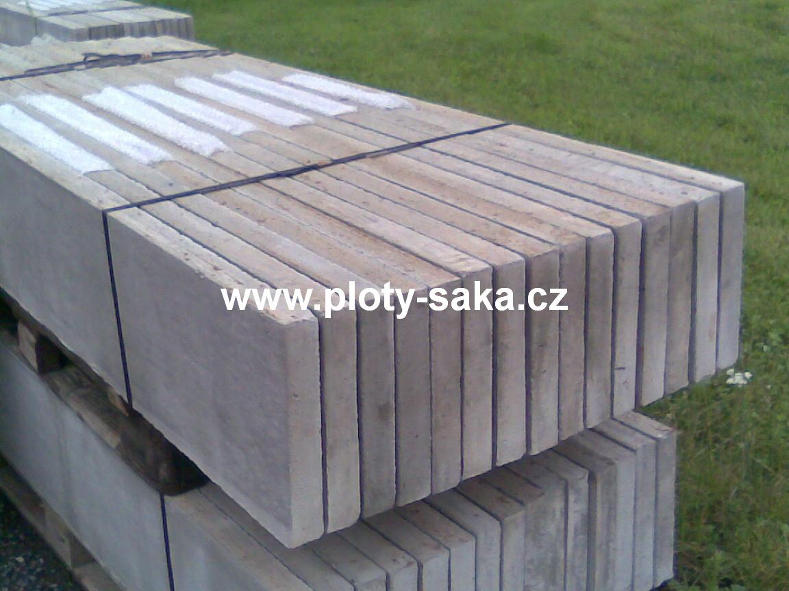 Podhrabová deska - 2500x250x50 mm