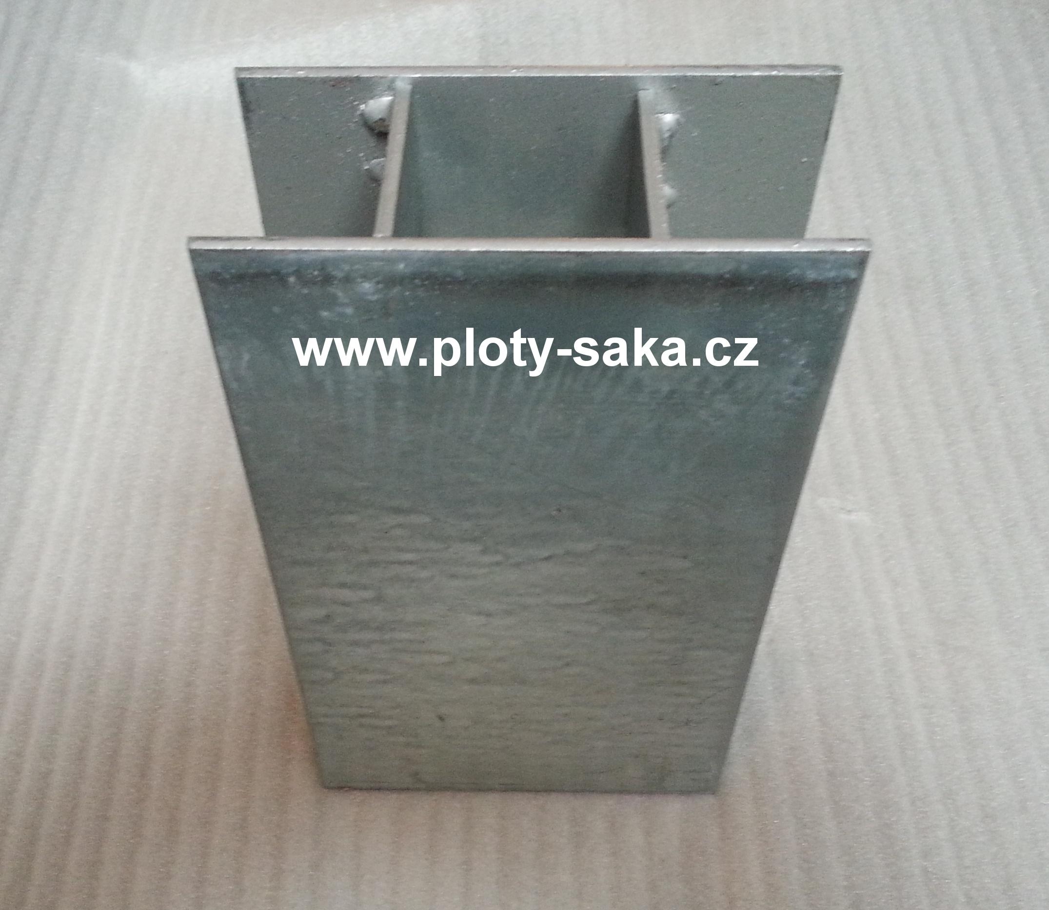 Průběžný držák podhrabové desky 48 Zn 200x50 mm