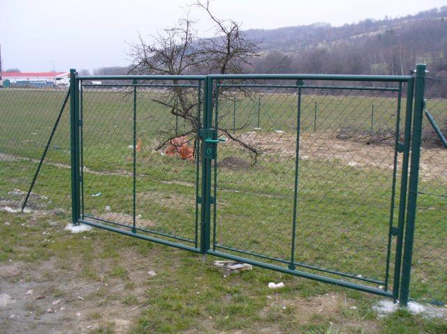 Brána FAB, výška 125 cm, šířka 400 cm