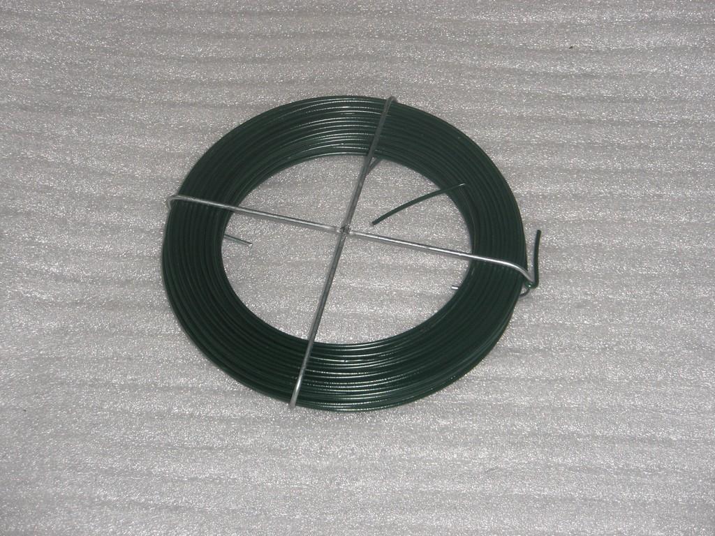 Vazací drát poplastovaný zelený, 1.5 mm, 30 m