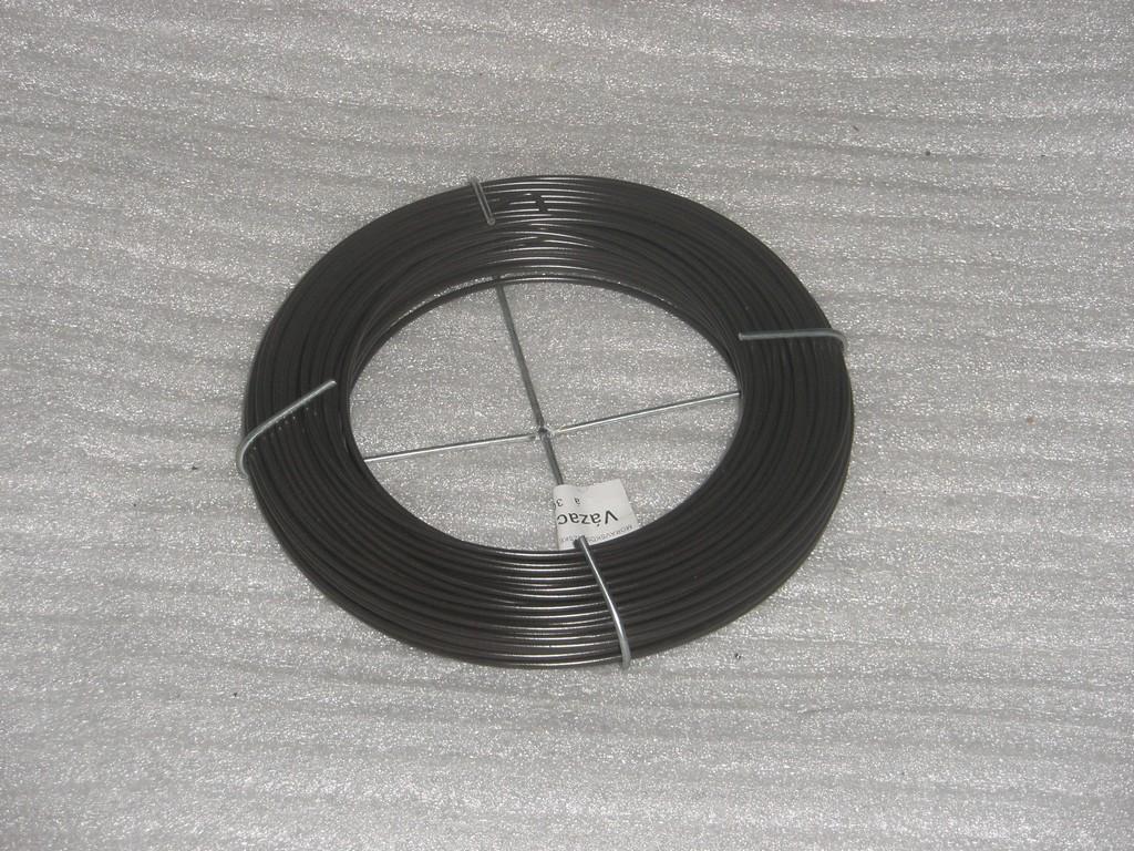 Vázací drát poplastovaný hnědý, 1.5 mm, 30 m