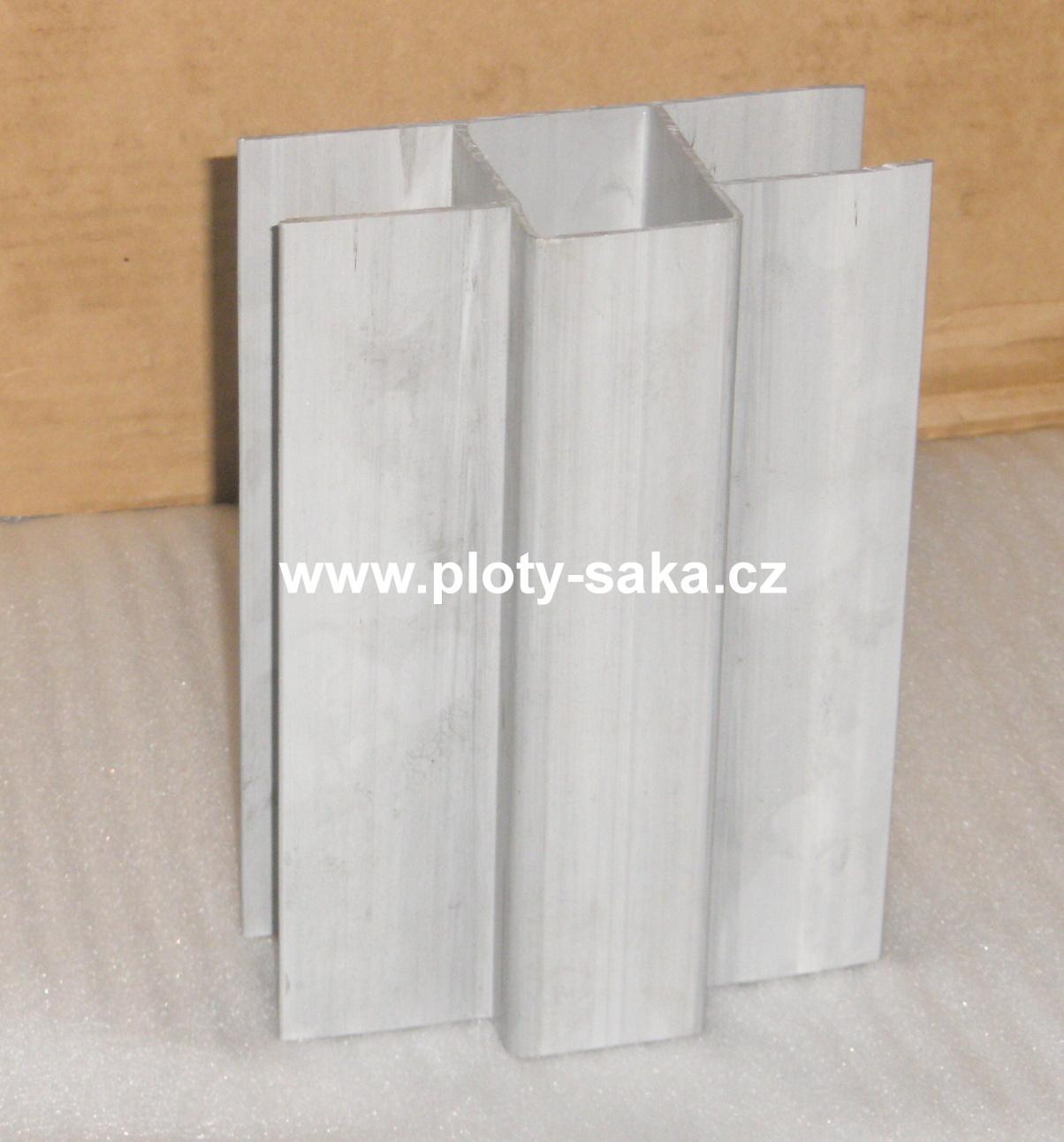 Průběžný držák podhrabové desky, průměr 60x40 PVC 200x40 mm