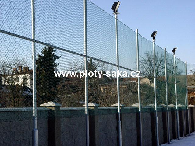 Sportovní pletivo ZN + PVC, 200 cm, 2,8 mm